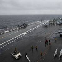 USS Dwight D. Eisenhower (CVN 69) enters the U.S. 6th Fleet area of operations on June 8, 2016 (U.S. Navy photo by Anderson W. Branch)