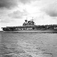 USS Enterprise (CV-6) (Official U.S. Navy Photograph, now in the collections of the National Archives)