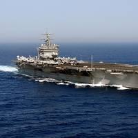 USS Enterprise (CVN-65). U.S. Navy photo by Photographer's Mate Airman Rob Gaston