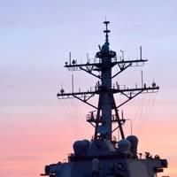 USS Fitzgerald (DDG 62) returns to Fleet Activities (FLEACT) Yokosuka following a collision with a merchant vessel while operating southwest of Yokosuka, Japan. (U.S. Navy photo by Mass Communication Specialist 1st Class Peter Burghart/Released)