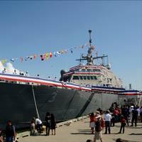 'USS Fort Worth Commissioning: Photo credit Lockheed Martin
