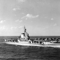 USS Franklin Delano Roosevelt (CVB-42. Official U.S. Navy Photograph, now in the collections of the National Archives.