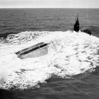 USS Jefferson City during sea trials in 1991 (U.S. Navy photo)