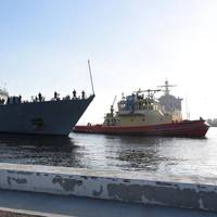 USS Little Rock (LCS 9) arrives at its homeport in Mayport, Fla. on April 12 (Photo: Naval Station Mayport)