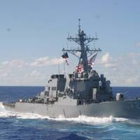 USS Mahan: Official Navy photo