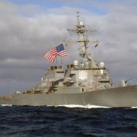 USS Mitscher Photo USN