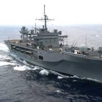 USS Mount Whitney: Photo USN