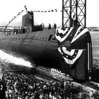 USS Nautilus (SSN-571), photo courtesy Idaho National Laboratory