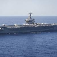 USS Nimitz: Photo courtesy of USN