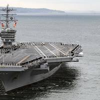 USS Nimitz: Photo credit USN