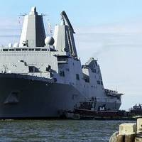 USS San Antonio: Photo credit USN