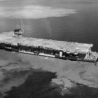 USS Thetis Bay (LPH-6). (Photo: U.S. Navy National Museum of Naval Aviation)