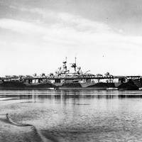 USS Wasp (CV-7). U.S. Naval Historical Center Photograph.