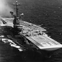 USS Wasp (CVS-18. Official U.S. Navy Photograph, from the collections of the Naval Historical Center.