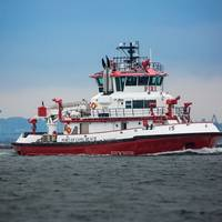 Vigilance is the second of two new fireboats to enter service at the Port of Long Beach in California (Photo: Port of Long Beach)