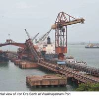 Vishakhapatnam Port Trust's Iron Ore Handling Complex on a Build-Operate-Transfer basis