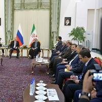 Vladimir Putin had talks with President of Iran Hassan Rouhani in Tehran. (Photo: President of Russia)