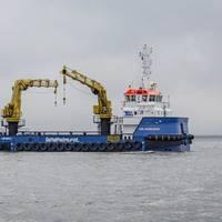 Voe Vanguard, the first vessel of Damen's RSV 3315 series (Photo: Damen)