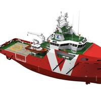 Vroon 60m ERRV: Artist's impression courtesy of Vroon Offshore