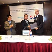 Wah Kwong Ship Management and DNV GL - Signing ceremony