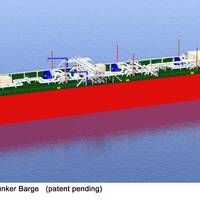 Waller Marine 30,000 M³ ATB LNG RV (patent pending)