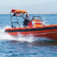 Willard Marine's 670 SOLAS rescue boat (Photo courtesy of Willard Marine)