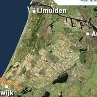 Windfarm Location: Image courtesy of Van Oord