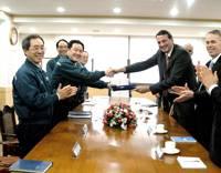 Wärtsilä  and Hyundai Heavy Industries have signed an extension to their license agreement (Photo: Wärtsilä)