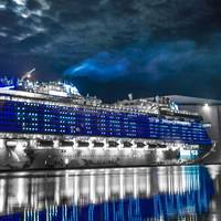 "Wärtsilä is supplying a special external lighting system for the ""Genting Dream"" cruise vessel. (Photo: Wärtsilä)"