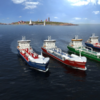 Wärtsilä will deliver a comprehensive scope of marine solutions from its own portfolio to four new LNG fuelled tankers for Swedish owners