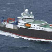Wärtsilä will supply the propulsion solution for the UK's new research vessel to be operated by the NERC. Photo by Skipsteknisk AS, courtesy Wärtsilä Corporation