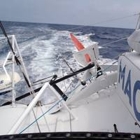 Yacht 'Macif': Photo credit Vendée Globe