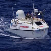 Yanamr's innovative Robotic, auto docking boat (CREDIT: Yanmar)