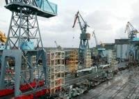 Yantar Shipyard: Photo credit Rianovosti