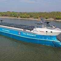 Yara Birkeland was launched in Romania in February 2020 (Photo; Yara International ASA)