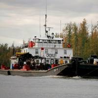 Yukon River operations: Image courtesy of Crowley Maritime