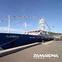 Zamakona Yards delivers a second tuna freezer vessel to the Jadran Group