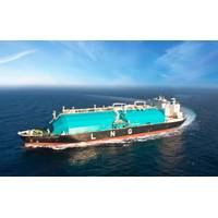 File Image: a large LNG carrier at sea. (CREDIT: MISC)
