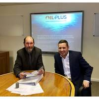 Photo: Peter Sanders and Clarke Shepherd have taken on the respective roles of technical manager and global business development director at Oil Plus.