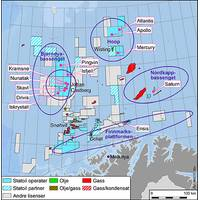the Barents sea map. (Photo: courtesy Statoil)