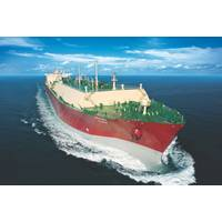 File Image: a large LNG carrier at sea. (CREDIT: QGTC)