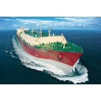 File Image: A large LNG carrier at sea (CREDIT: QGTC)