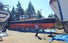 114-year-old Tug Being Restored After Sinking
