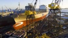 Matson's New ConRo Ship Matsonia Christened