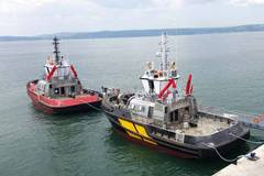 Sanamar Launches 3 Tugs from New Yard