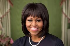 Michelle Obama to Christen Navy