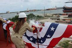 Crowley Christens 2nd LNG-ready Product Tanker