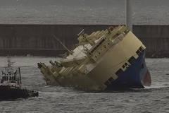 Innovative Equipment Will Help Unload Listing Ship