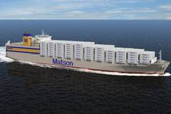 Matson Orders Two ConRo Ships from NASSCO