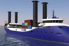C-Job Designs Flettner Freighter for Switijnk